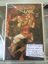 Dragon's  Lair # 2 Fabio Laguna cover very limited RARE VF Movie Don Bluth