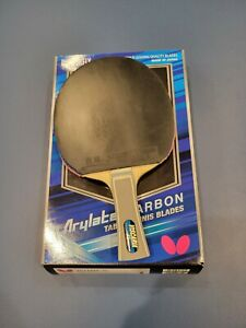 Butterfly Viscaria rare 92 gr example tennis blade with rubbers.