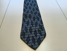 Tie - Nick Hilton Collection Necktie - Blue & Purple w/ Diamonds - 100% Silk