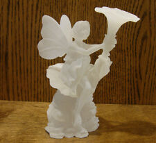 """Frosted Lucite Sculpture, FAERIES #SF20124 FION, NEW'Box From Retail Store 6.75"""""""
