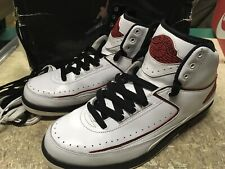 best website 9b7a3 9e966 USED MENS NIKE AIR JORDAN II 2 RETRO QF WHITE 2009 EDIT 395709 101 SZ 9.5
