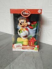 NEW LIMITED EDITION DISNEY MICKEY MOUSE HOLIDAY CHRISTMAS CANDY DISPENSER
