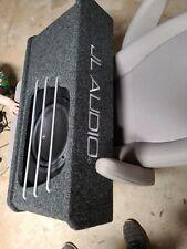 JL Audio ho110rg  1-Way 10in. Car Subwoofer w3v3
