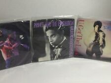 Prince Lot Of 3 45 RPM Hot Thing -You Got The Look -Another Lover On My Head