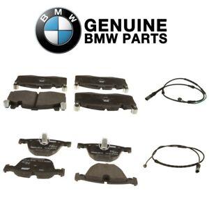 Genuine Front and Rear Brake Pad Set & Sensors Kit For BMW F86 X6 M