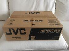 JVC hr-s9400 S-VHS et high-end video recorder, ovp&neu, 2 ANNI GARANZIA