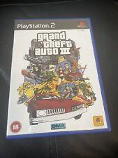 Grand Theft Auto 3 Sony Playstation 2 2001 Versandkostenfrei mit manueller Rennauto