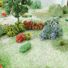 Free Shipping MP SCENERY 50 Flower Bushes O Scale Architectural Railroad Layout