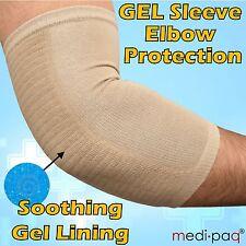 Gel Protection Sleeve - Tennis Elbow Arthiritis Sports Injury Arm Pad Guard