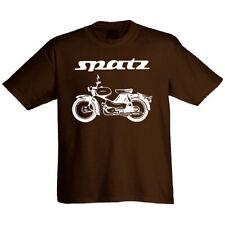 Halbarm Herren-T-Shirts mit Rundhals und Motorräder