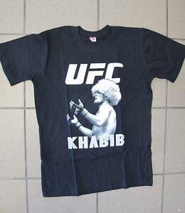Boxing tee shirt Khabib Nurmagomedov UFC sz S-M blue white Нурмагомедов бокс