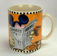 Disney Mickey Mouse Sports News Go Ahead I'm All Ears Large 24 oz Mug