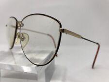 Vintage Liz Claiborne Eyeglasses 54-18-145 Gold Tortoise 4541