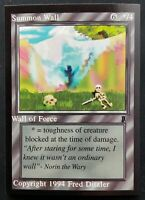 MTG Middle Ages Sticker Card - Wall of Force - 1994 Magic the Gathering