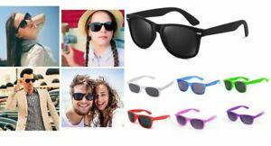 New Classic Sunglasses Lens Mens Ladies 80s Womens Retro Vintage Fashion UV400