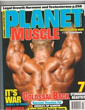 PLANET MUSCLE bodybuilding workout magazine/DexterJackson/Mike O'Hearn 7-08