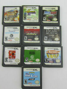 Nintendo DS Lot of 10 Different Games Only See Pics