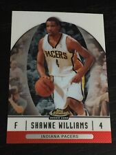 2006-07 Finest SHAWNE WILLIAMS RC #92 basketball card ~ Pacers rookie ~ F1