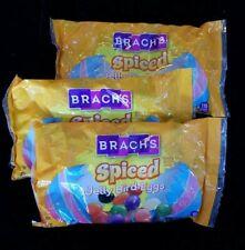 Spiced Jelly beans lot,  3 Bags Net Wt 14.5 Oz Brach's Easter Spiced Jelly Bird