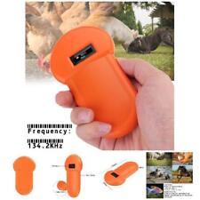 134.2Khz Animal ID Reader LCD Display RFID Portable Pet Microchip Scanner