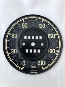 Speedometer Gauge Face Fits Mercedes Benz W121 190SL