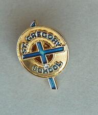 St. Gregory School Calgary Alberta Canada Lapel Hat Pin