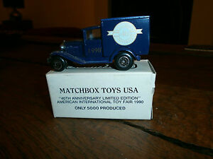 Matchbox No 38 Model A Ford with Matchbox Toys USA 40th Anniversary Decals