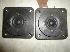 2 RARE  GRAETZ  ITT LPKH 91/19/ 145EK  TWEETERS  MADE  IN  GERMANY
