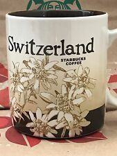 NEW AUTHENTIC Starbucks SWITZERLAND v1 Icon 16 oz mug DISCONTINUED!