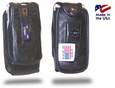 Motorola W385 Turtleback Leather Case