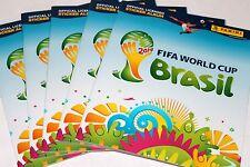 PANINI WC WM BRASIL 2014 – 5 X ALBUM VUOTO EMPTY ALBUM VUOTO vacio International