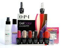 OPI GelColor Gel Nail Polish Iconic Starter Kit 2015 Set
