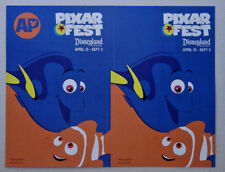 AP Disneyland PIXAR FEST Finding Nemo decal sticker Dory and Nemo