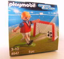 Playmobil FUßBALLTORTRAINING 4947 NEUF et emballage d'origine œuf de Pâques œuf