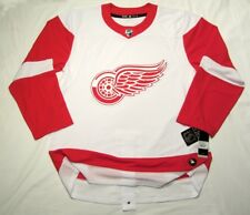DETROIT RED WINGS size 56 = sz XXL ADIDAS NHL HOCKEY JERSEY Climalite White away