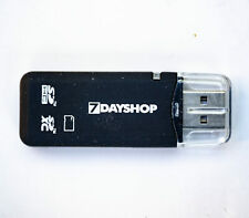 USB SD Card Reader Adapter SD SDHC SDXC - fast free postage