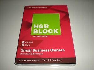 H&R Block 2018 Premium & Business Schedule C & Corporations.  Imports Turbotax