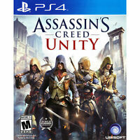 Assassin's Creed Unity - Playstation 4 [Brand New] Assassins Creed PS4