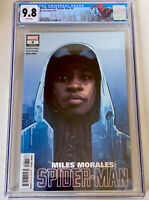 MILES MORALES: SPIDER-MAN #8 CGC 9.8 SPIDEY NYC LABEL 1st App of The Assessor NM