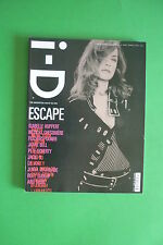 i-D Fashion magazine N. 253 april 2005 ISABELLE HUPPERT BY PAOLO ROVERSI ESCAPE