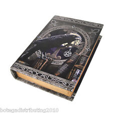 Anne Stokes Talisman Book Box Caja Para Cartas Tarot Raven Wican Night Trinket