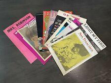Vintage Sheet Music Lot Doors John Lennon Exodus Scott McKenzie Oliver