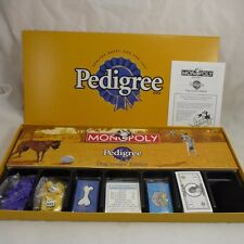 New Monopoly Pedigree Dog Lover's Edition Game w 6 Pewter Tokens Wrap  Removed