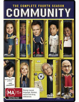 COMMUNITY: SEASON 4 = TV Series = NEW DVD R4