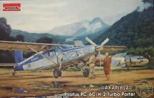 1/48 Aircraft Pilatus PC-6C/H-2 Turbo Porter AIR AMERICA Roden 440 Model kit