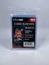 ULTRA PRO Soft Sleeves / Kartenhüllen Transparent - Standard Size - 100 Stück