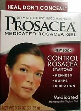 Prosacea GEL Rosacea Treatment Homeopathic Gel Sulpur  .75 oz