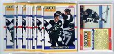 1X WAYNE GRETZKY 1990 91 Score Traded #110T 2000 PTS NMMT Lots Available Kings