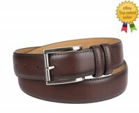 NEW Chaps Men's Casual Belt Italian Leather Brown size S 30-32