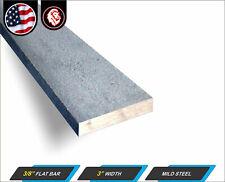 38 X 3 Steel Flat Bar Flat Metal Stock Mild Steel 12 Long 1 Ft